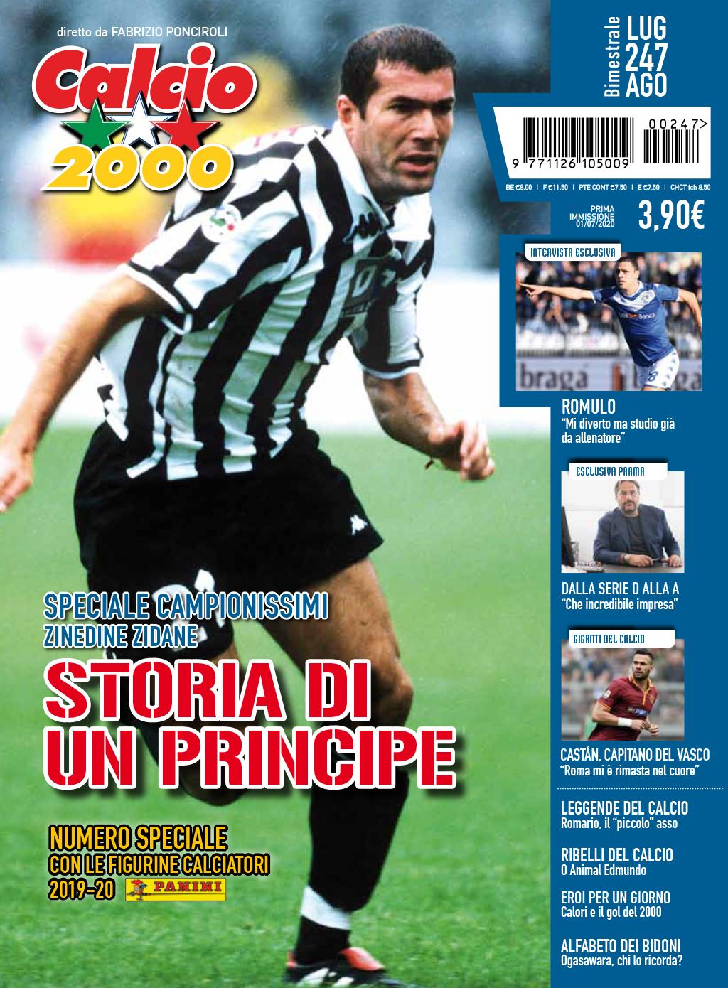 prima pagina calcio2000